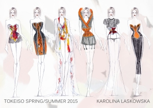 Karolina Laskowska graduate collection line up