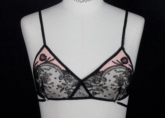 'Valentine' soft bra by Nonos Lingeire
