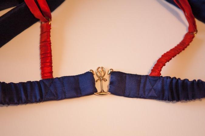 Beautiful custom clasp by Pillowbook. Photo by K Laskowska