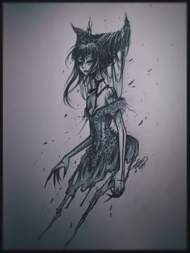 Illustration by Iris Chen // www.deathful.net