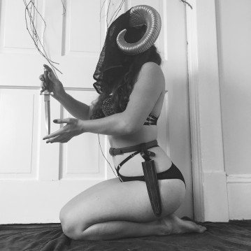 Anonymous entry. 'This shoot was inspired by modern witchcraft (and, if I'm being honest, I think my affection for the fantasy card game Magic the Gathering managed to sneak in a bit). '